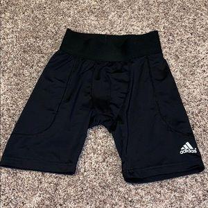 Adidas men's compression shorts